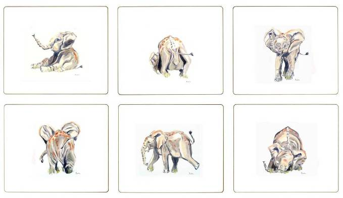 Baby Elephant Tablemats