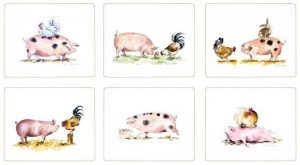 Pig Groups Tablemats