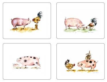 Pigs Groups Placemats